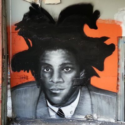 Perfect Sunday Mastrocola Spraypaint Portrait Basquiat redstarmovement