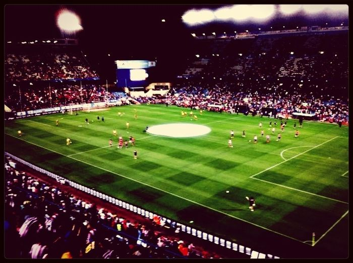 Vicente Calderon Futbol Hanging Out Things That Are Green Learn & Shoot: After Dark