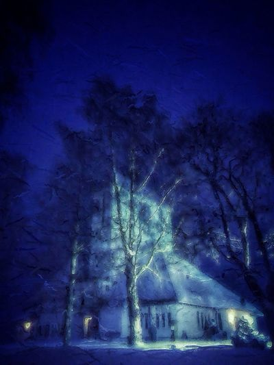 Winter night EyeEm Best Edits EyeEm Nature Lover Darkart The Maximals (more Edit Juxt MAX It)