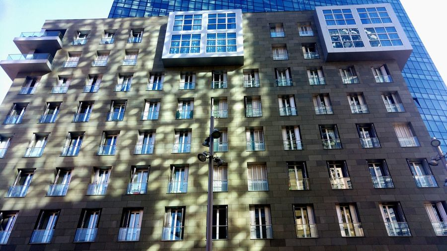 Bilbao City Life Sky Outdoors Modern Architecture Building Exterior Built Structure Sunlight Shadow Sun Rays Urban Skyline Shadows & Lights Travel Destinations Blue Adapted To The City Sun And Shade The City Light