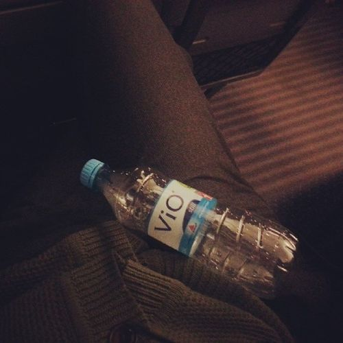 Flasche leer. Akku leer. Ich leer. #letscallitaday
