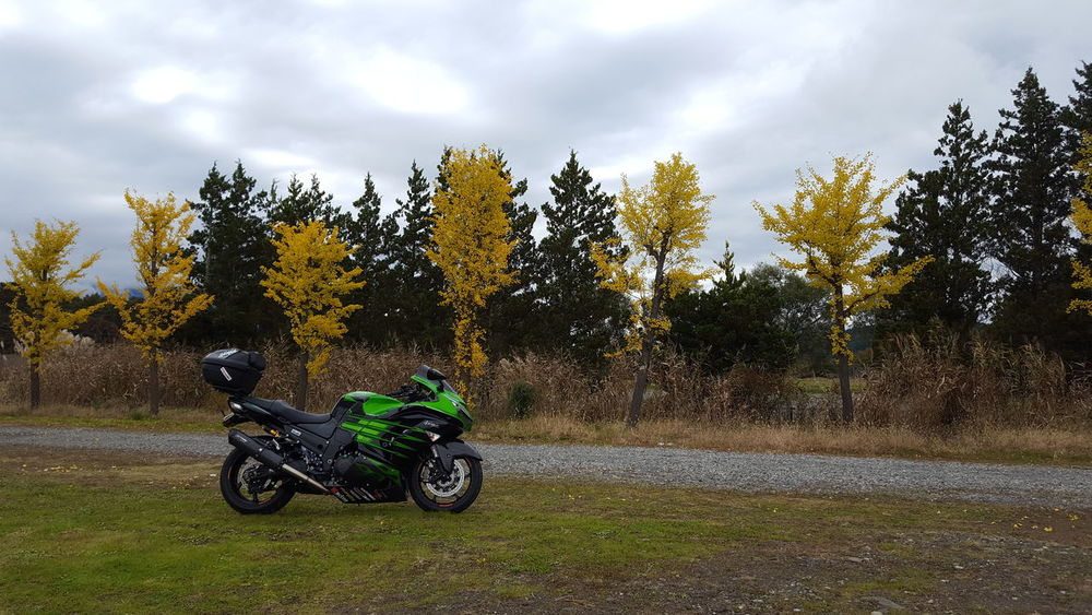 Kawasaki Ninja Kawasakininja Kawasakimotor ZX-14R Zzr1400 Motorcycle バイク Cloud - Sky Tree Transportation Riding Mode Of Transport Motorcycle One Person Leisure Activity Outdoors Sky Day People Adult Only Men Adults Only One Man Only