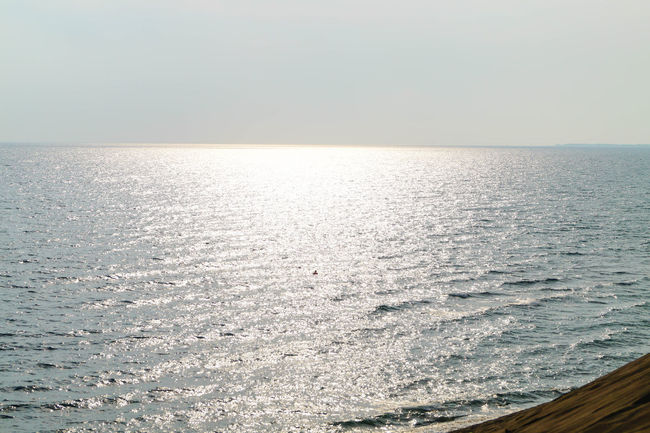 Beach Beauty In Nature Day Horizon Over Water My Year My View Nature No People Outdoors Rippled Scenics Sea Sky Sunset Tranquil Scene Tranquility Water Miles Away Live For The Story Perspectives On Nature