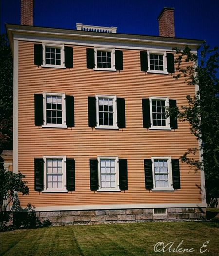 Architecture Salem Early American Mobilography