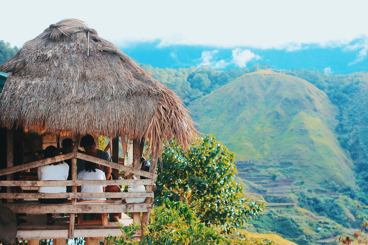 Kalinga, Philippines is known as home of mambabatuk (tattoo artist). @EyeEmNatureLover @Philippines @canon @mountain @photography @travel @travelling Animal Themes Beauty In Nature Day Growth Mountain Mountain Range Nature No People Outdoors Scenics Shelter Sky Thatched Roof Tranquil Scene Tranquility Tree