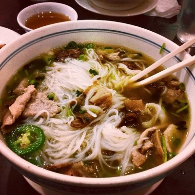 Hella good under this cold weather Studybreak Pho Behungry Nomnom