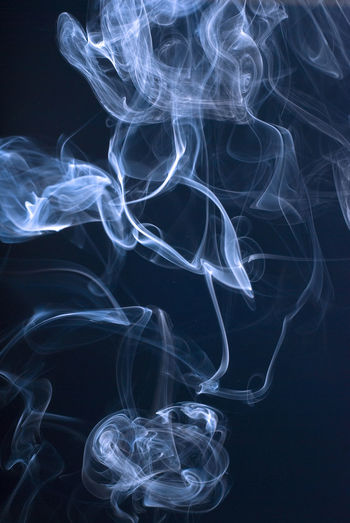 smoke on black Black Black Background Cigarette  Cigarette Time Fragility Incense No People Shape Smoke Smoke - Physical Structure Swirl