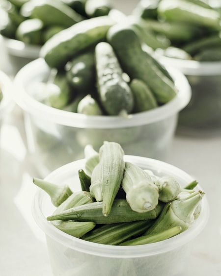 Close-up of vegetable in container