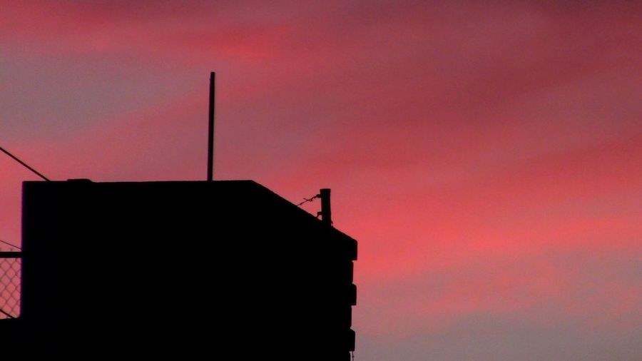 Sunset Building Exterior No People Nature Building Cloud - Sky Low Angle View Pink Color Dramatic Sky Outdoors Orange Color