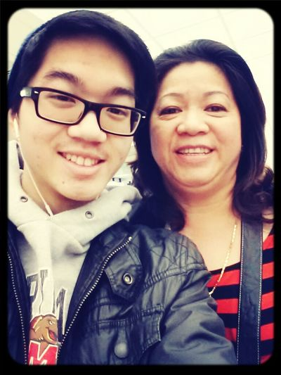Welcome Home Mommy :) ♥ At The Airport My Mom Welcome Back