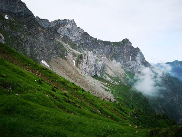 Heitertannliweg Pilatus Pilatus Mt. Luzern, Switzerland Lucerne, Switzerland Mountain Spraying Water Sky Mountain Range Woods Foggy The Great Outdoors - 2018 EyeEm Awards The Traveler - 2018 EyeEm Awards