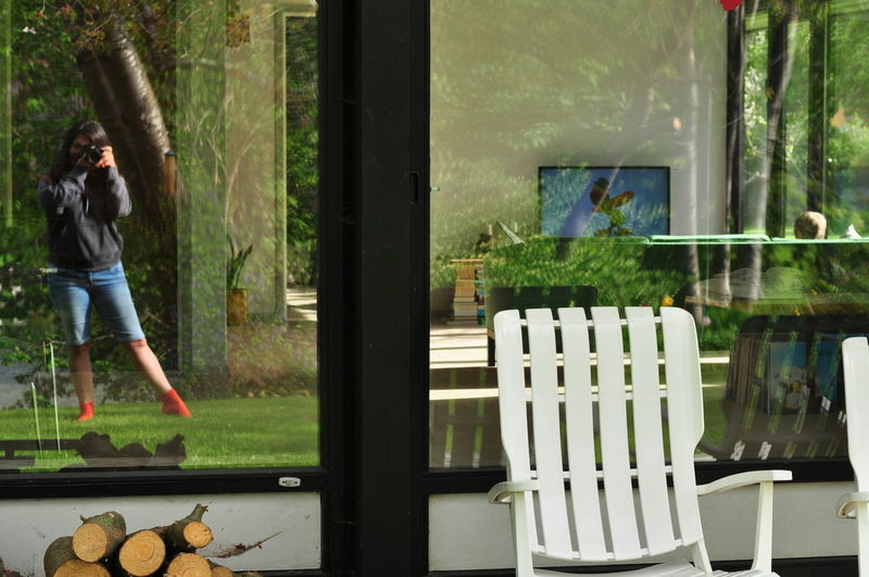 Casual Clothing Different Points Of View Different View No Focus Reflection Reflexions Window View Windows Enjoyment Scope Silhouette Leisure Activity Mirror Mirrorselfie Fine Art Photography Mix Yourself A Good Time