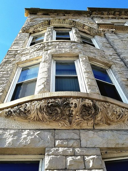 American Hotel Ornate Built Structure Building Exterior Low Angle View History Travel Destinations Art Is Everywhere Carbondale Historical Building City Arts Culture And Entertainment Architecture Sculpture