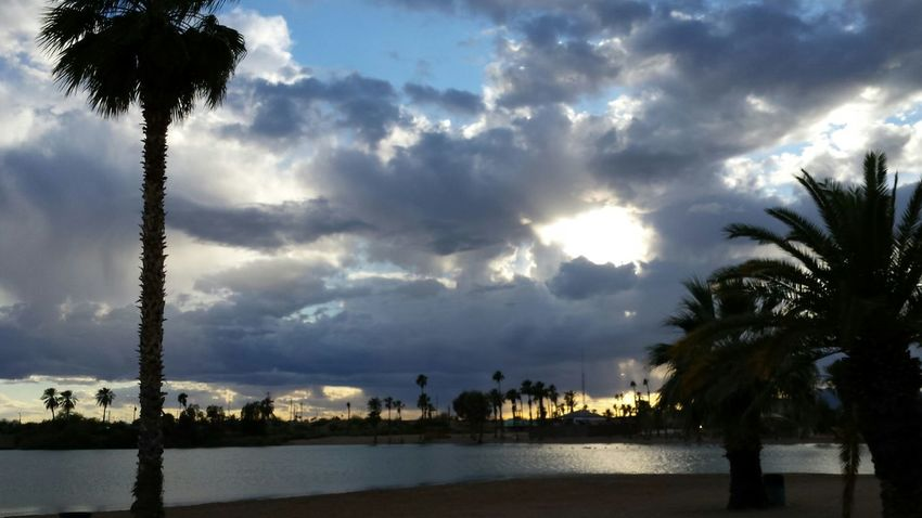 Havasu Lakehavasu Sunsets Thompsonbay Nofilter Crazyweather Clouds Intense Anyone else afraid to delete cloud pics...for fear there maybe sumthing in the clouds we dont see yet??