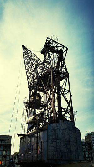 Belgium Antwerp Crane Steamcrane