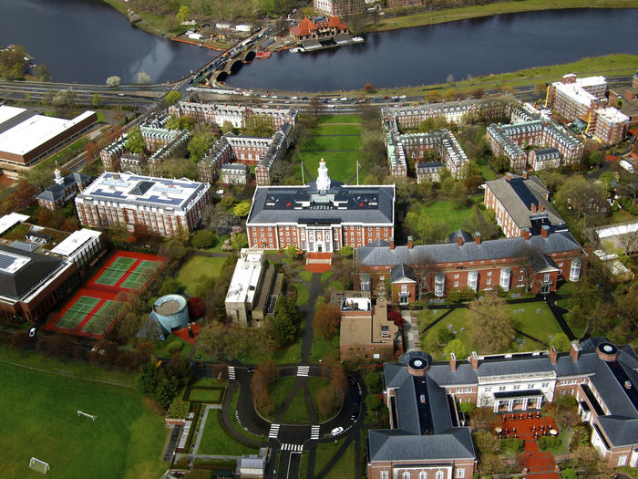 Aerial Shot Boston EyeEmNewHere HBS Harvard Business School Helicopter Aerial Photography Aerial View Architecture Baker Library Birdseyeview Building Cambridge Harvard High Angle View Ivy League No People