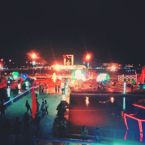 Ninh Thuan My Hometown 😍😍😍 Illuminated Night Arts Culture And Entertainment Celebration Nightlife Outdoors Multi Colored