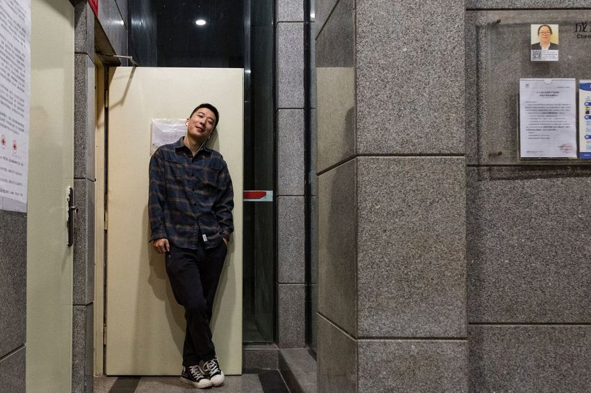2018.10.31 One Person Real People Full Length Standing Lifestyles Casual Clothing Young Adult