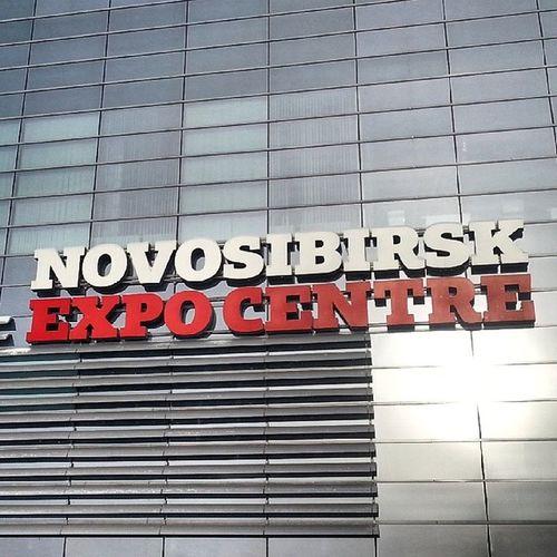 2014 -01, Новосибирск . Экспоцентр . вывеска / Novosibirsk. Expo centre. Signboard.