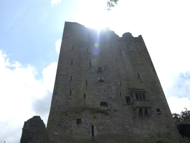I was driving around Ireland and came to Blarney, Ireland. Since a bunch of my friends already said I had the gift of Blarney, I had to visit the Castle and take a couple of pictures. Architecture Blarney Castle Building Exterior Built Structure Castle Day History Low Angle View Nature No People Outdoors Sky Sun Sunbeam Sunlight The City Light