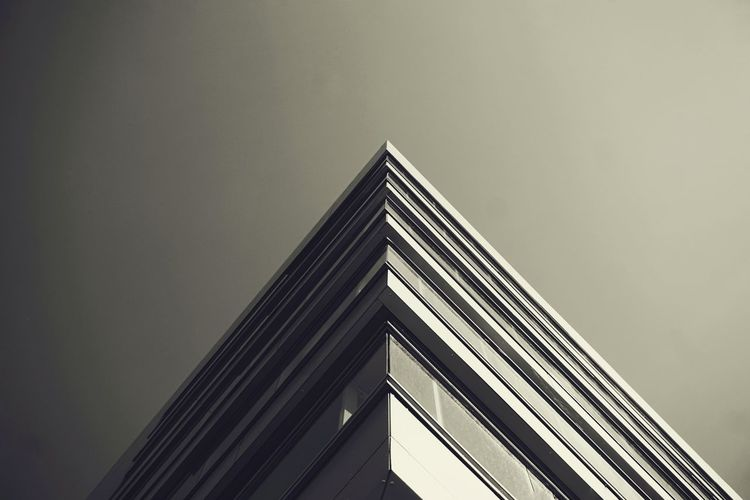 2019 Niklas Storm Juli Modern City Skyscraper Futuristic Triangle Shape Architecture Building Exterior Built Structure Sky Close-up Architectural Feature Geometry Architectural Design Architectural Detail Façade Tall - High Corner The Architect - 2019 EyeEm Awards My Best Photo