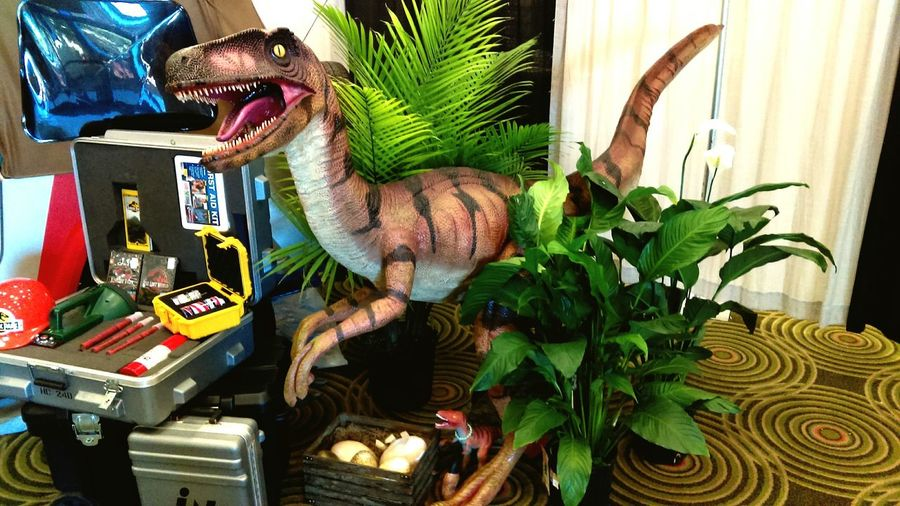 Jurassic Park setup at Omni Expo 2016
