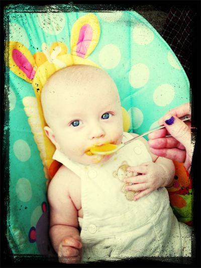 Cute Little Dirty Face. ;)