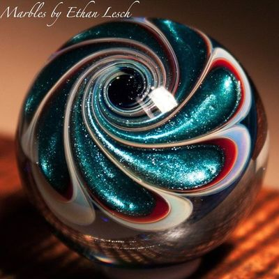 Marble Boromarble BORo Headyart handmade headymarbles glassmarble glass glassblowing mib headyglass ventura 805 ethanlesch