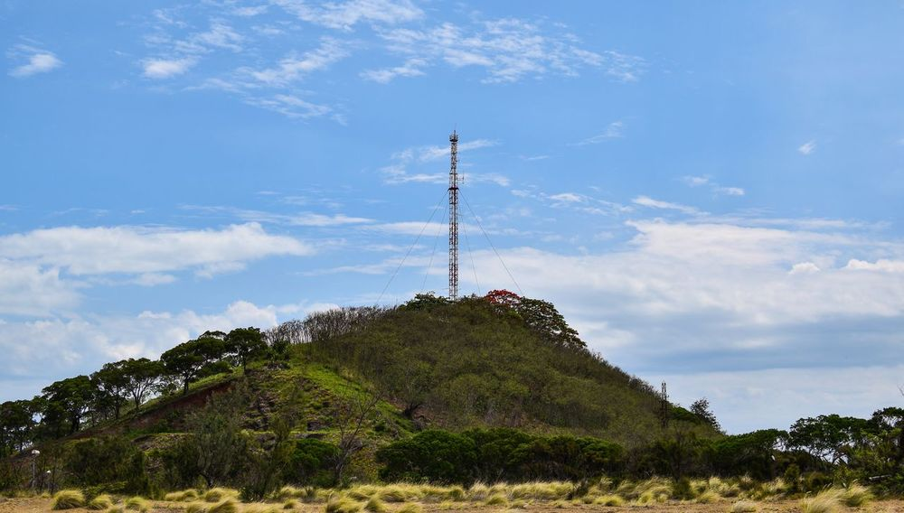Hill Hilltop Landscape Landscape_Collection Trees Hills Noumea New Caledonia Transmission Tower Radio Tower