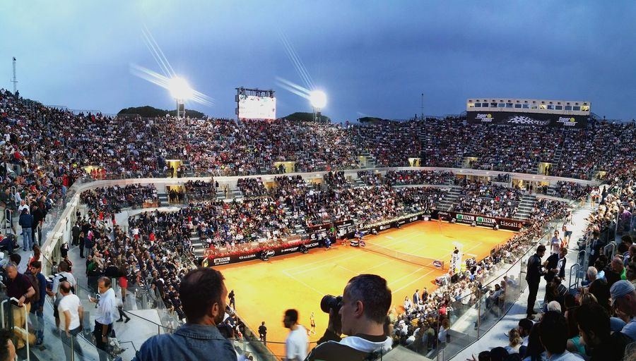 Internzionali Bnl Novak Djokovic Rome Italy Tennis Master1000 Atp Tennis