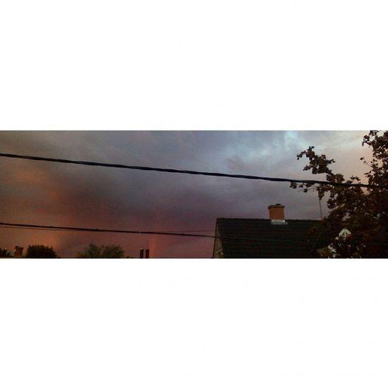 ?☁ Rainbow Sky Sundown Gpoy nofilter beauty