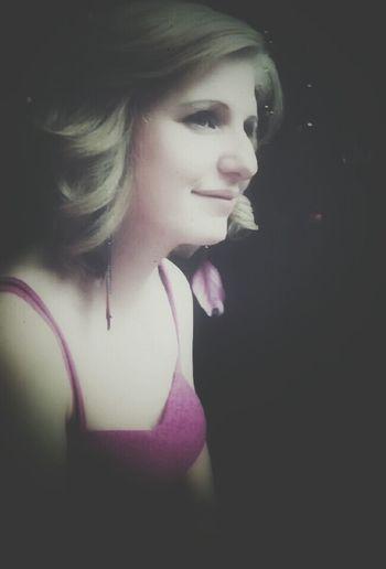 Portrait Vintage Fashion Photography Blonde
