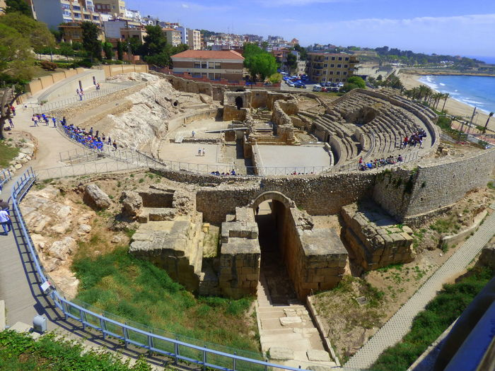 Archaeological Complex Of Tarraco Architecture Built At The End Of The Second Century Ac Built Structure Day Outdoors Roman Amphitheater Of Tarraco Roman Amphitheater Of Tarragona World Heritage Site By UNESCO