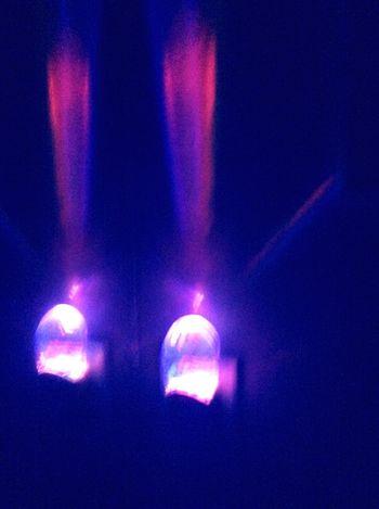 Night Lights Rainbow LongIslandNY When Boredom Strikes. Essentialtremorsawareness