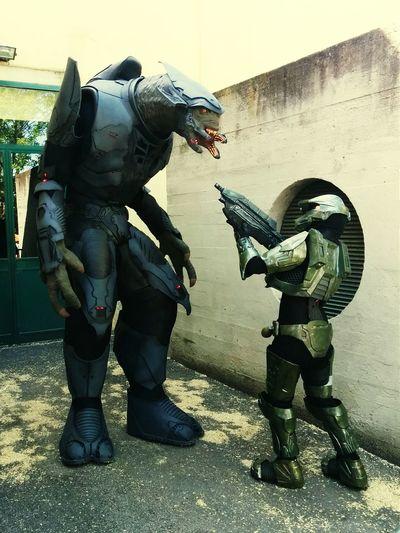 Cosplay Halo Dracomics Costume