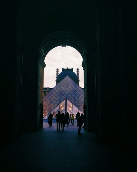 ⏫ Paris Louvre Louvremuseum Louvre Pyramid Architecture Architecture_collection Architectural Detail Travel Destinations Parigi Minimalist Architecture Minimalism EyeEmNewHere Outdoors The Street Photographer - 2017 EyeEm Awards The Great Outdoors - 2017 EyeEm Awards Breathing Space