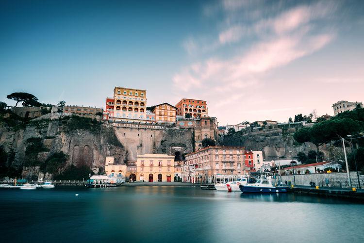 Sorrento idyllic cityscape