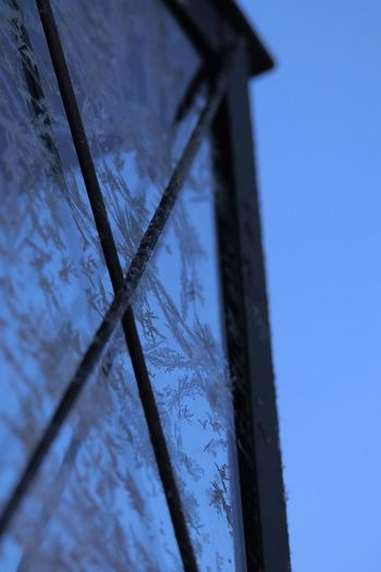 Architecture Blue Clear Sky Close-up Day Low Angle View Nature No People Outdoors Sky Windmill
