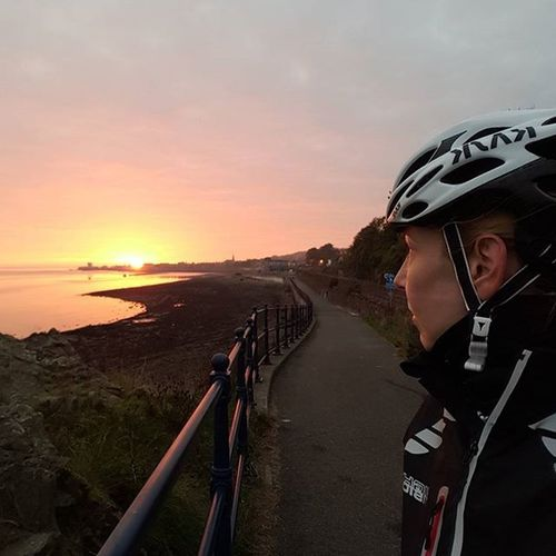 Another one because it was so lovely. Cycling Dundee Cyclingphotos Scottishrowan Broughtyferry Sunrise_Collection