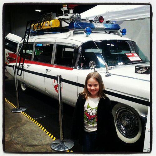 Zoey's favorite car at Cavalcadeofcustoms in Cincinnati Ghostbusters Ecto1