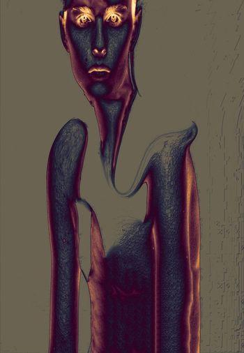 Figure Minimalism Surrealism Freestyle Trippy Graphic Digital Art Model Men Art Artist