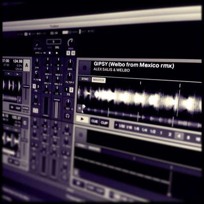 "Testando il nuovo ""Alex Salis & Welbo"" live • Gipsy AlexSalis Welbo Housemusic mexico"
