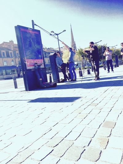 People Watching Festival Du Film Taking Photos Eyemphotography / Bordeaux France👌🍒🍓 ©Thimothee Kone
