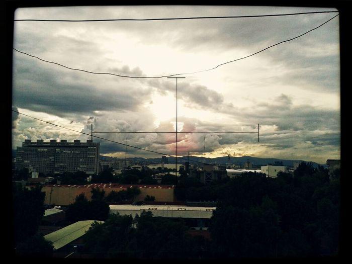 Dia nublado en México D.F.