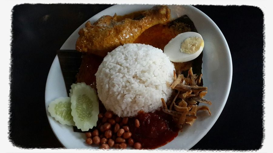 Nasi Lemak Dinner Spicy Samsung Galxy S4