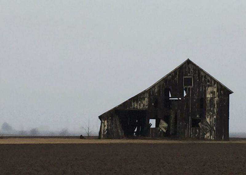 Solitary Barn Under An Overcast Sky First Eyeem Photo Barn Farm Isolated Rual