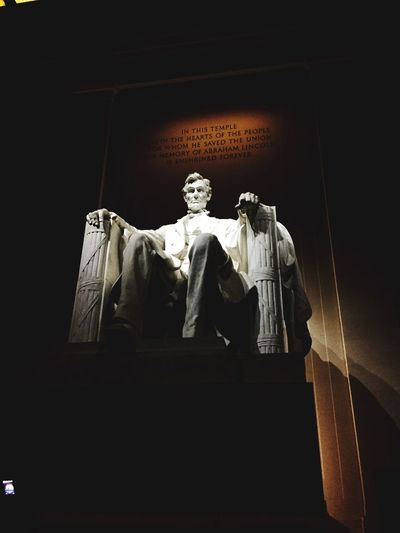 Abraham Lincoln Lincoln Monument Check This Out Statue America Washington D.C. Tourist City Lincoln Memorial Memorial