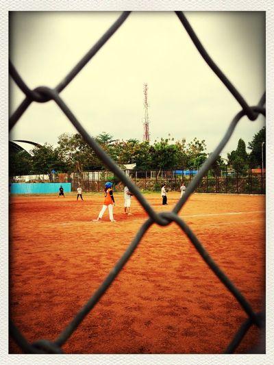 Collegesoftball Sundaysport Field Amateursoftball