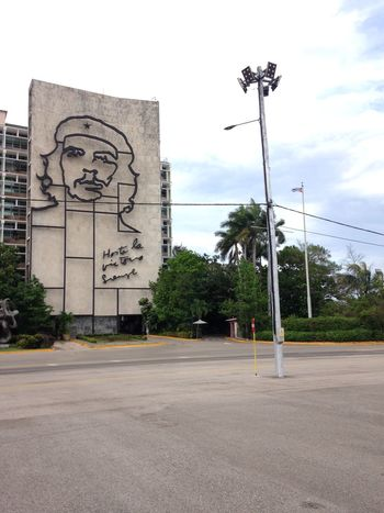 Architecture Backpacking Caribbean Che Guevara Cloud - Sky Cuba Day Havana No People Outdoors Sky Travel Tree