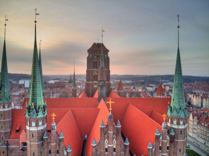 St.marys church in gdansk